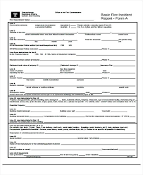 Incident Report Examples Docs Pages Fire Investigation