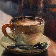 hot chocolate painting. Brilliant Painting Hot Cocoa Painting  Cafe Love Coffee By Michele Carter Throughout Chocolate O