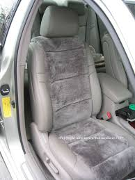 sheepskin seat cover vest