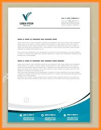 examples of letterhead letterhead sample letter heading template awesome collection of
