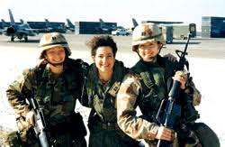 women in the us military persian gulf war