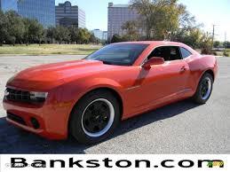 2012 Inferno Orange Metallic Chevrolet Camaro LS Coupe #57872057 ...
