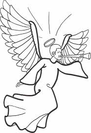 angel color pages preschoolers   murderthestoutfree printable angel coloring pages for kids