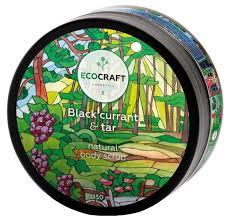 <b>EcoCraft Скраб для</b> тела Black currant and tar — купить по ...