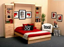 murphy bed reviews. Simple Bed Cozy Folded Bed Furniture Integrated With Large Wooden Storage Unit Red  Bedding Pillows Black Pillow And Murphy Bed Reviews U