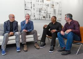 beats by dre office. Apple Beats Deal (Tim Cook, Jimmy Iovine, Eddy Cue And Dr Dre 001 By Office Y