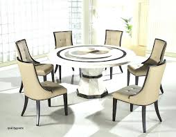 retro round glass top dining table set with 6 pu leather chairs and 8 4 halo