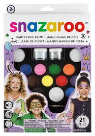 snazaroo face paint ultimate party pack multi coloured co uk toys