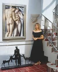 Barbra Streisand Interior Design Magazines Page 4