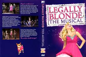 Legally blonde the musical on dvd
