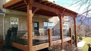 deck canopy ideas awning shade structures solutions for decks n10