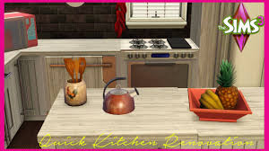 Sims 3 Kitchen The Sims 3 Classic Kitchen Makeover Youtube