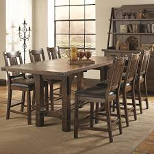 Spacesaving With Unique Dining Room Table With Bench And Chairs - Distressed dining room table and chairs