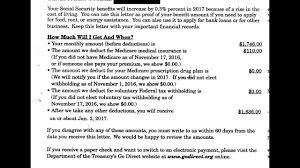 Understanding Your Social Security Benefit Verification Letter Youtube