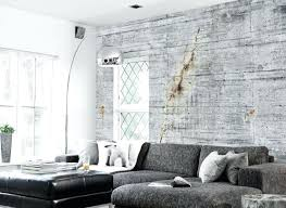 interior cinder block wall covering concrete wallpaper collection by tom home design ps4