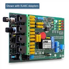 4 channel t1 mux rlh industries rj 48c adapters