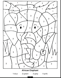 math coloring pages worksheets for grade second best facts sheets pdf