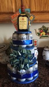 alcohol birthday gifts unique diy beer cake tower diy of alcohol birthday gifts new diy