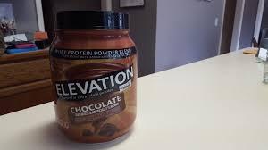 elevation chocolate whey protein powder