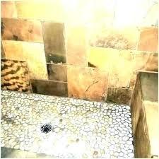 rock floor tile showers river shower images to enlarge stone