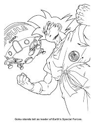 Dragon Ball Z Kleurplaten Gohan Coloriages Imprimer Freezer Numro