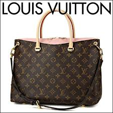 louis vuitton handbag louis vuitton m40468 bag monogram monogram pallas lady s rose ballerina rose ballerina
