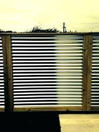 decorating decorative corrugated metal siding panels fence privacy panel