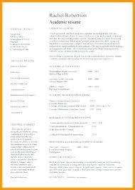 Curriculum Vitae Template Word Curriculum Vitae Template Word Free Download Academic Resume