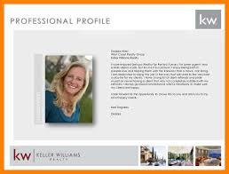 6 8 Real Estate Agents Profile Samples Nhprimarysource Com