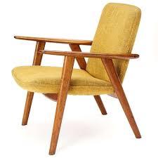 Scandinavian Modern Oak Reading Chair by Hans J. Wegner For Sale