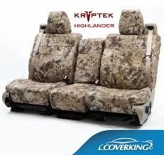 coverking kryptek camo seat covers