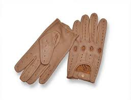 com genuine leather driving gloves brown large sports outdoors