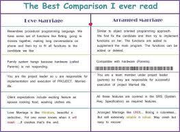love marriage vs arranged marriage essay love marriage vs arranged marriage essay