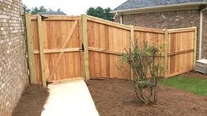 wood privacy fences. Cost To Install Privacy Fence Build A Wooden Gate Fences From Natural Enclosures Wood