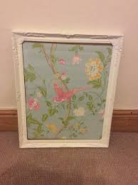 vgc large white baroque shabby chic rectangle photo picture frame 18 x 22 5