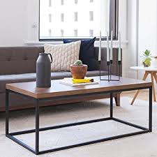 Amazon Solid Wood Coffee Table Modern Industrial Space