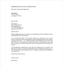 Cover Letter Sample For Pharma Company Adriangatton Com