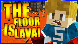 the floor is lava challenge minecraft map awesome game modes levels