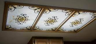 fluorescent light covers decorative