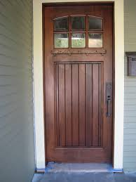 craftsman front door with stained glass and craftsman front door ideas