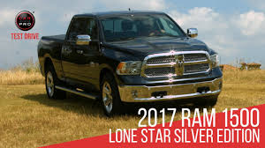 Test Drive: 2017 Ram 1500 Lone Star Silver Edition - YouTube