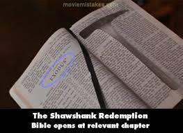 the shawshank redemption plot summary mistake screenshot