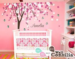 cherry blossom tree wall stickers nursery decal sticker with