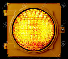Traffic Light Glass Lenses For Sale Close Up Of Illuminated Amber Traffic Light Lens