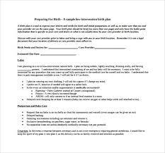 Birth Plan Download Birth Plan Template Uk Printable Sample Customer Service