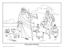 Free abraham crafts and activities for kids! Abraham Coloring Pages Printable Bible Sheets For Kids