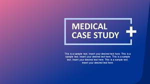 Medical Power Point Backgrounds Medical Case Study Powerpoint Template