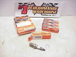 Four 4 Autolite Ar3932 Racing Spark Plug Box Fits C57cx