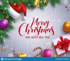 Christmas Vector Banner And Background Template With Merry