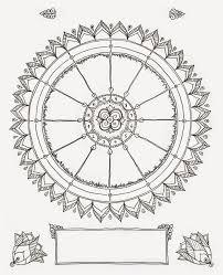Blank Astrology Chart Forms Blank Birth Chart Mandala Astrology Art Therapy Numerology